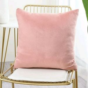 2/$20 Solid Pink Cushion Cover without filler